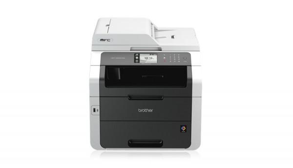 Brother MFC-9332CDW Multifunktionsgerät Farblaser mit Faxfunktion-1