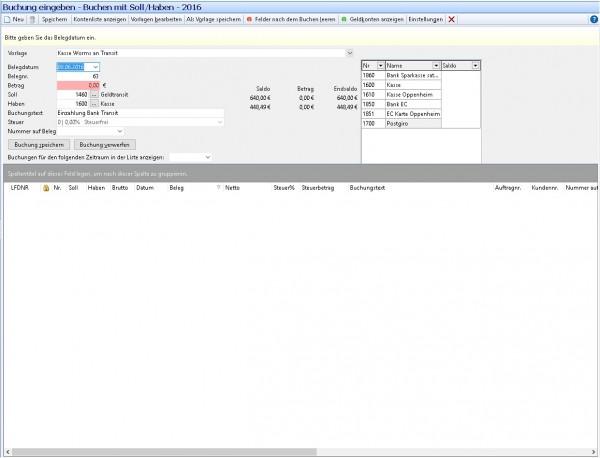 Update Fibu Modul für Amicron-Faktura 12
