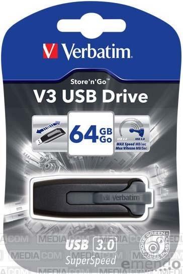 Verbatim USB 3.0 SuperSpeed - Store ´n´ Go USB Stick 64 GB