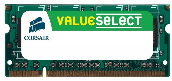 Corsair SO-DIMM 2 GB DDR2-800 ValueSelect