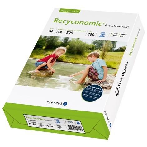 Recyclingpapier Recyconomic® Evolution White DIN A4, 500 Blatt