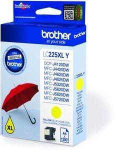 BROTHER LC-225XLY Tinte gelb hohe Kapazität 1200 Seiten 1er-Pack