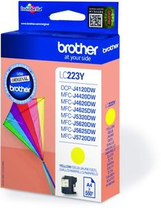 Brother LC-223 C yellow