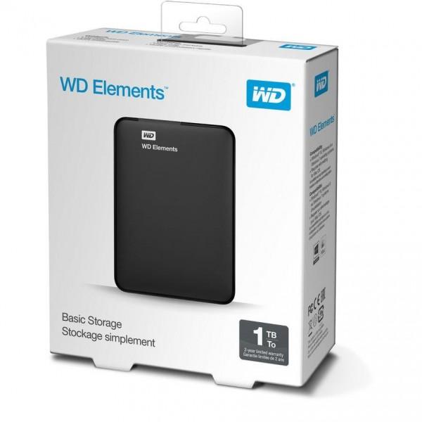 USB3.0 1TB Elements Western Digital schwarz