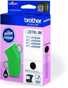 BROTHER LC-227XLBK Tinte schwarz hohe Kapazität 1200 Seiten 1er-Pack