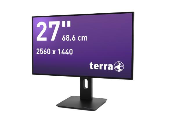 TERRA LED 2766W PV schwarz DP/HDMI GREENLINE PLUS