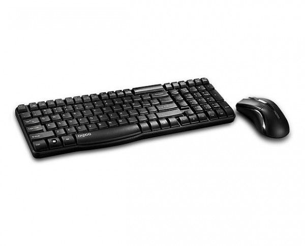RAPOO X1800 Wireless Deskset 2.4Ghz Mouse and Keyboard