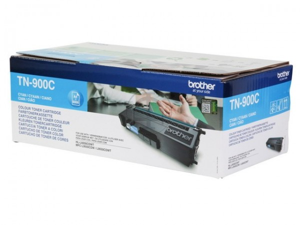 BROTHER TN-900C Toner cyan Extra hohe Kapazität 6.000 Seiten 1er-Pack-1