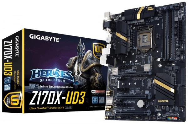 GIGABYTE Z170X-UD3 LGA1151 ATX 4x DDR4 PCI-E DisplayPort HDMI ATX (7)