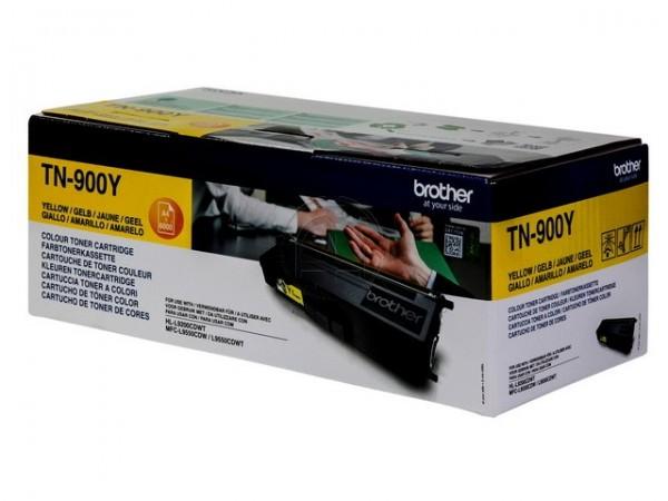 BROTHER TN-900Y Toner gelb Extra hohe Kapazität 6.000 Seiten 1er-Pack-1