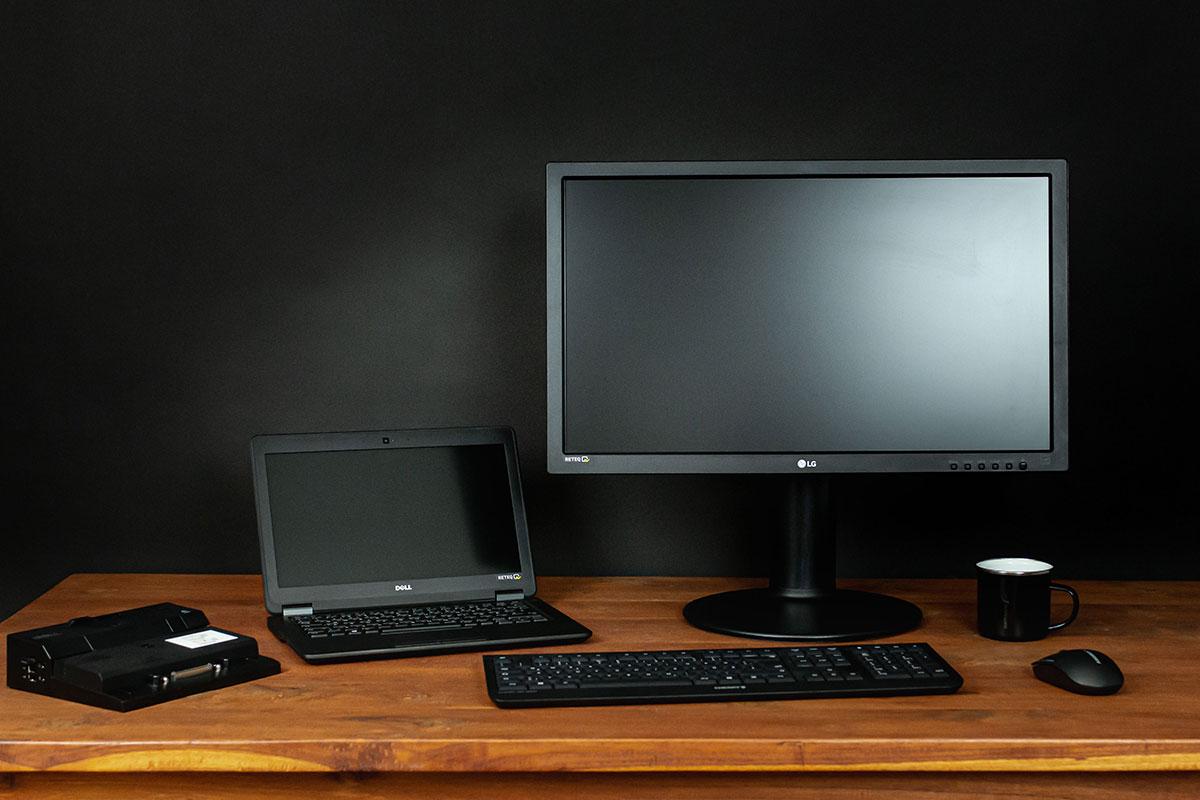 DELL Homeoffice BundleE7250 Note-Book, Dockingstation und Bildschirm