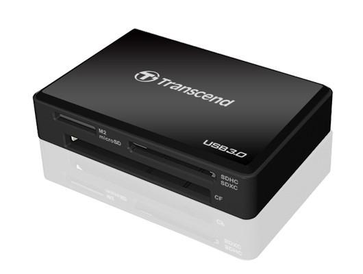 TRANSCEND RDF8 Card Reader USB 3.0 UHS-I schwarz-1