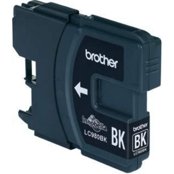 LC980BK original Druckerpatrone mit 6ml Inhalt für ca.300 Seiten, black
