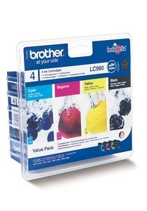 Brother Multipack LC980VALBPDR (LC980BK/C/M/Y)