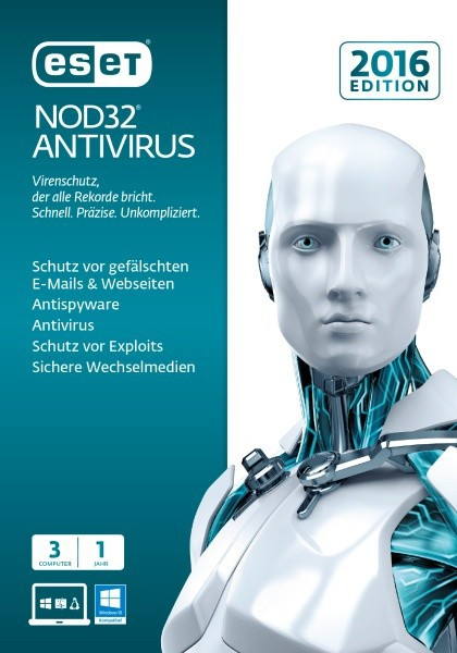 ESET NOD32 Antivirus 2016 Edition 3 User